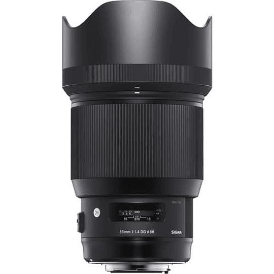Sigma Art 85mm f/1.4 DG HSM Lente para Nikon F - Image 2