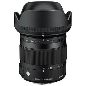Lente Sigma 17-70mm F2.8-4 DC MACRO OS HSM Contemporary para Canon