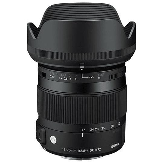 Lente Sigma 17-70mm F2.8-4 DC MACRO OS HSM Contemporary para Canon - Image 1