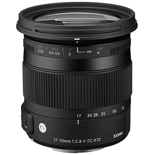 Lente Sigma 17-70mm F2.8-4 DC MACRO OS HSM Contemporary para Canon - Image 2