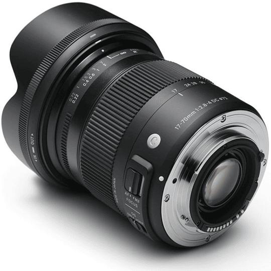 Lente Sigma 17-70mm F2.8-4 DC MACRO OS HSM Contemporary para Canon - Image 3