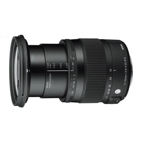 Lente Sigma 17-70mm F2.8-4 DC MACRO OS HSM Contemporary para Canon - Image 5