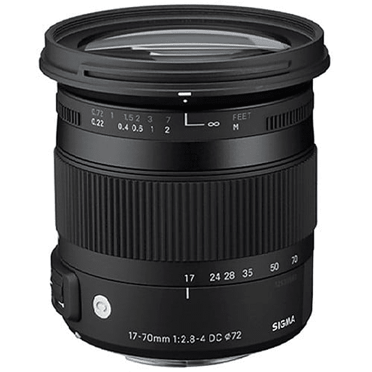 Sigma 17-70mm F2.8-4 DC MACRO OS HSM Contemporary Lente para Nikon - Image 2