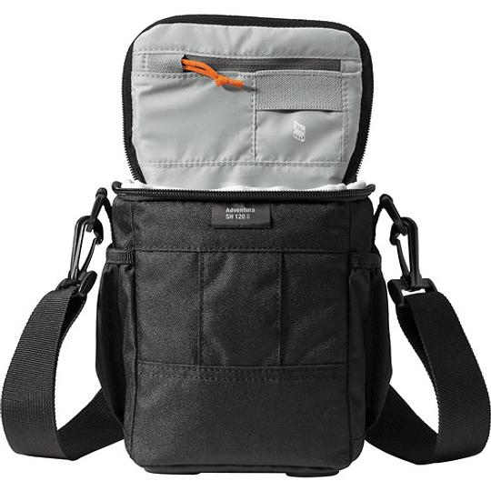 Lowepro Adventura SH 120 II Shoulder Bag (Black) Bolso de Hombro / LP36864 - Image 4
