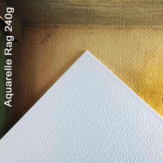 CANSON INFINITY ARCHES AQUARELLE RAG 240GR (ROLLO 24 PULGADAS x 15M) - Image 2