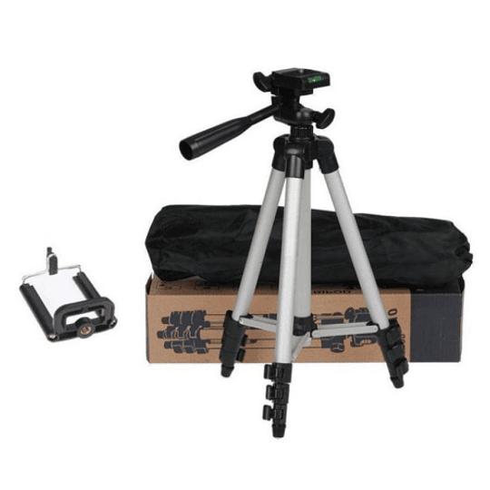 POWERWIN Kit Mini Trípode 3110A para Cámaras y Smartphone - Image 3