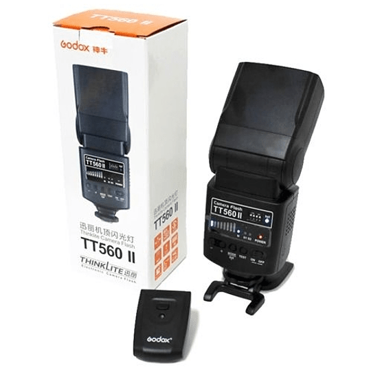 Godox TT560II Thinklite Wireless 433MHz Flash Speedlite Universal - Image 2