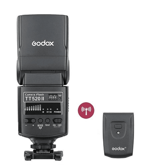 Godox TT520II Thinklite Wireless 433MHz Flash Speedlite Universal - Image 1