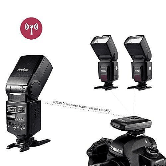 Godox TT520II Thinklite Wireless 433MHz Flash Speedlite Universal - Image 8