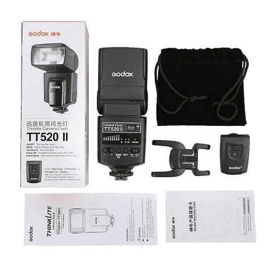 Godox TT520II Thinklite Wireless 433MHz Flash Speedlite Universal - Image 9