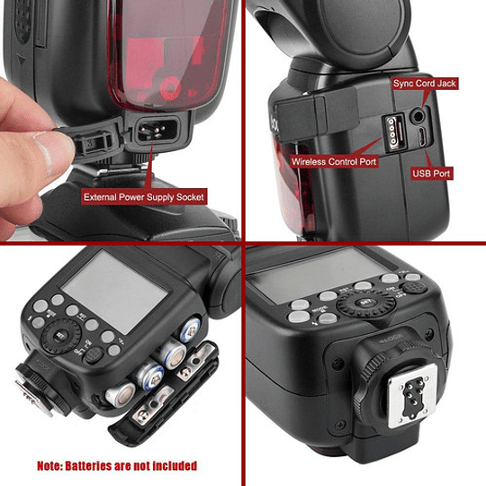 Godox TT685N Thinklite TTL Flash para Nikon - Image 6