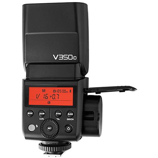 Godox V350C Flash TTL Kit con 2 Baterías para Canon - Image 2