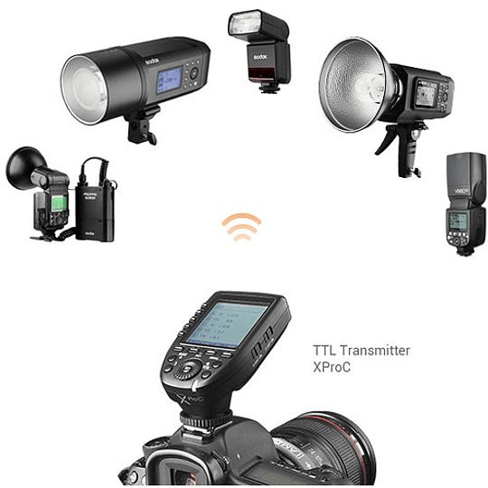 Godox V350C Flash TTL Kit con 2 Baterías para Canon - Image 4