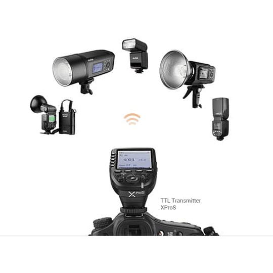 Godox V350S Flash TTL Kit con 2 Baterías para Sony - Image 4