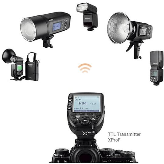 Godox V350F Flash TTL Kit con 2 Baterías para Fujifilm - Image 4