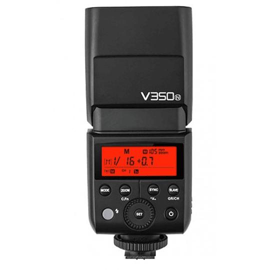 Godox V350N Flash TTL Kit con 2 Baterías para Nikon - Image 1