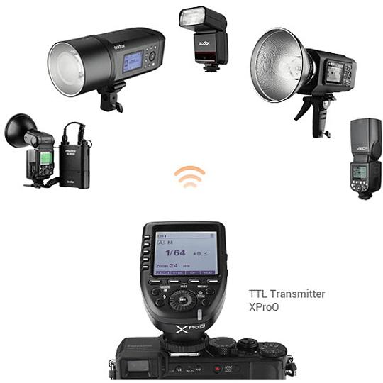 Godox V350N Flash TTL Kit con 2 Baterías para Nikon - Image 4