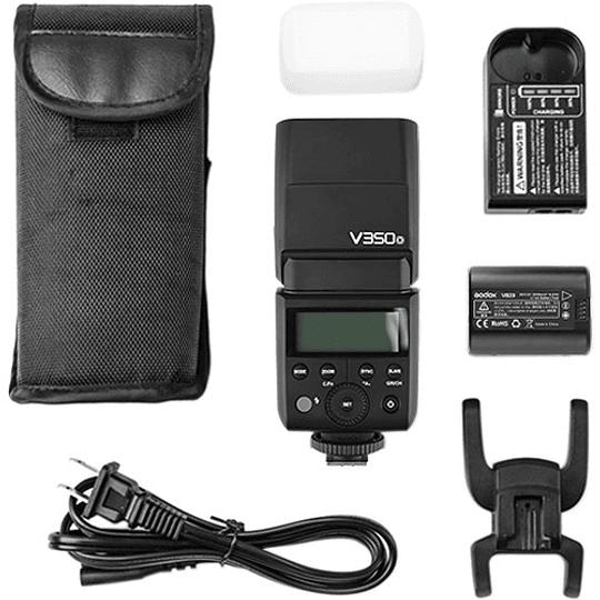 Godox V350N Flash TTL Kit con 2 Baterías para Nikon - Image 5