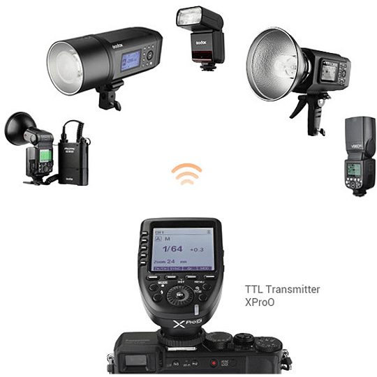 Godox V350O Flash TTL Kit con 2 Baterías para Olympus y Panasonic - Image 4