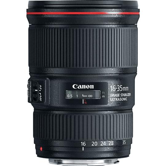 Canon lente EF 16-35 mm f / 4L IS USM - Image 1