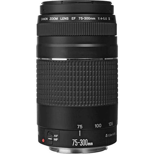 Lente Canon EF 75-300mm f/4-5.6 III - Image 1