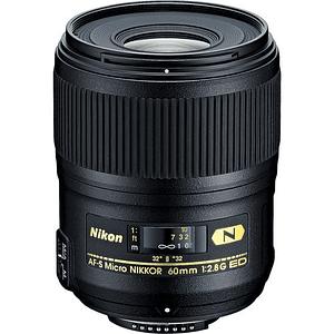 Nikon Objetivo AF-S Micro-NIKKOR 60 mm f / 2.8G ED