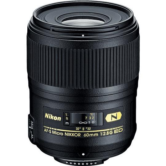 Nikon Objetivo AF-S Micro-NIKKOR 60 mm f / 2.8G ED - Image 1