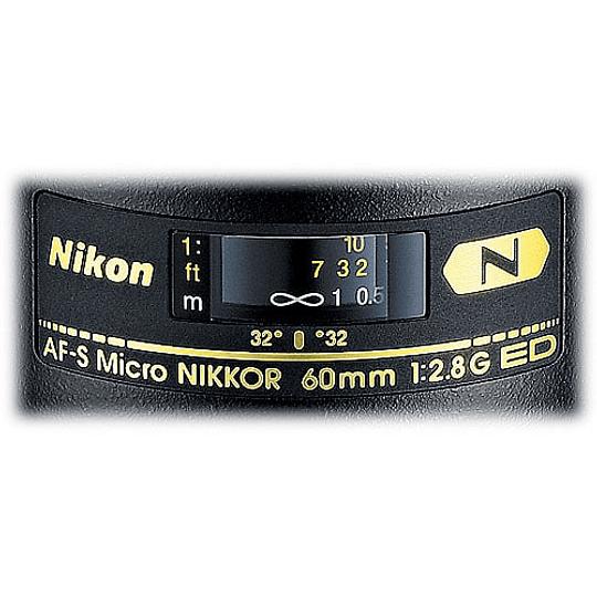 Nikon Objetivo AF-S Micro-NIKKOR 60 mm f / 2.8G ED - Image 2
