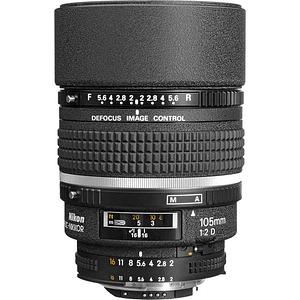 Nikon lente AF DC-NIKKOR 105mm f2