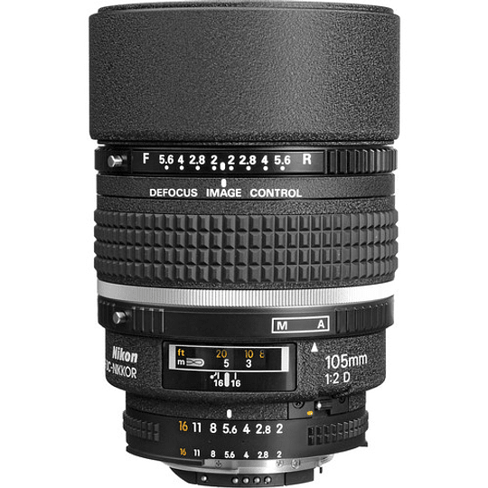 Nikon lente AF DC-NIKKOR 105mm f2 - Image 1