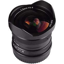 7artisans Photoelectric 7.5mm f/2.8 Fisheye Lente para Fujifilm X