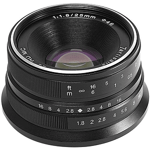 7artisans Photoelectric 25mm f/1.8 Lente para Fujifilm X