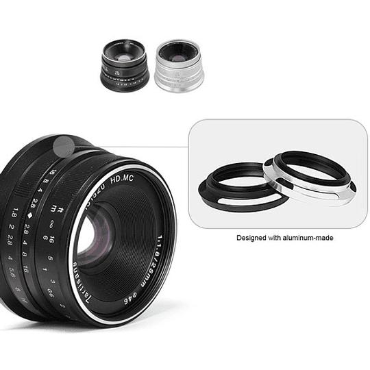 7artisans Photoelectric 25mm f/1.8 Lente para Fujifilm X - Image 5