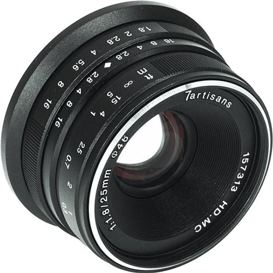 7artisans Photoelectric 25mm f/1.8 Lente para Fujifilm X - Image 6