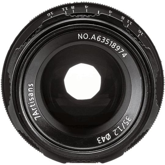 7artisans Photoelectric 35mm f/1.2 Lente para Fujifilm X - Image 2