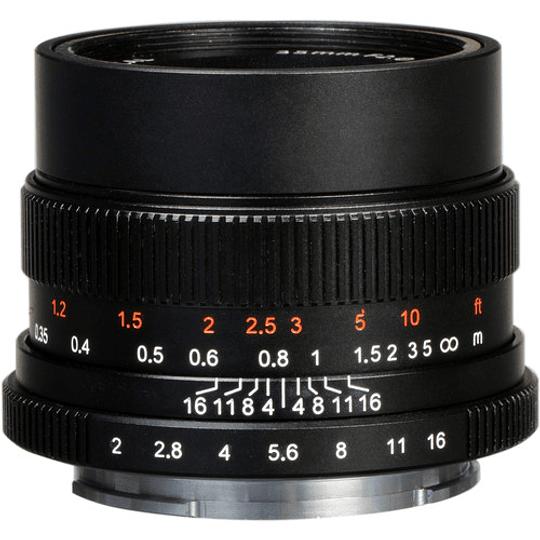 7Artisans Photoelectric 35mm f/2.0 Lente para Sony E - Image 2
