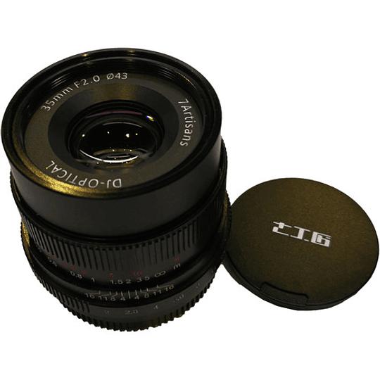 7Artisans Photoelectric 35mm f/2.0 Lente para Sony E - Image 6