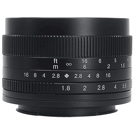 7artisans Photoelectric 50mm f/1.8 Lente para Fujifilm X - Image 1