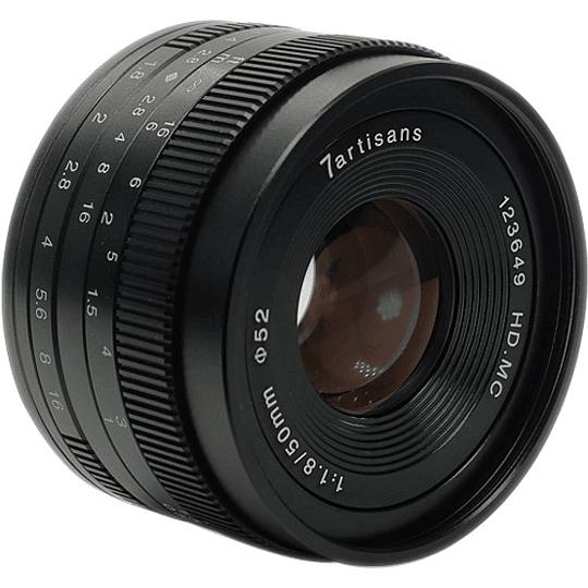 7artisans Photoelectric 50mm f/1.8 Lente para Fujifilm X - Image 2