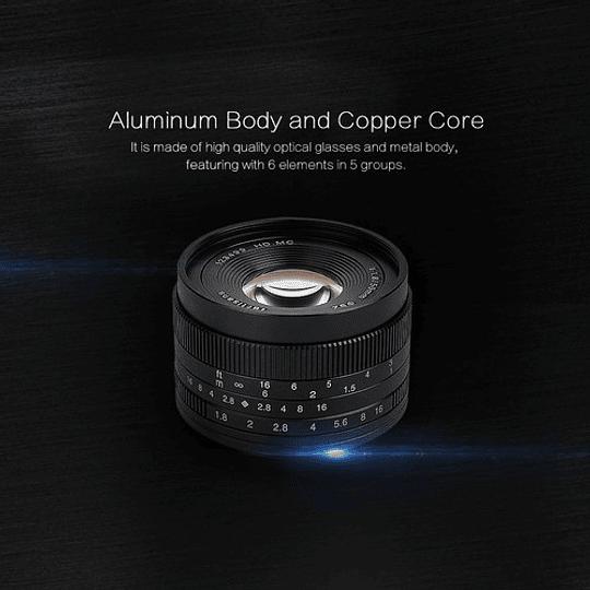 7artisans Photoelectric 50mm f/1.8 Lente para Fujifilm X - Image 7