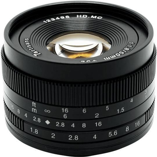 7artisans Photoelectric 50mm f/1.8 Lente para Fujifilm X - Image 9