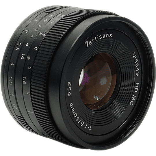 7artisans Photoelectric 50mm f/1.8 Lente para Sony E - Image 2
