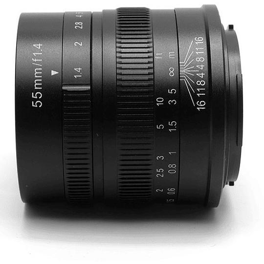 7artisans Photoelectric 55mm f/1.4 Lente para Fujifilm X - Image 1