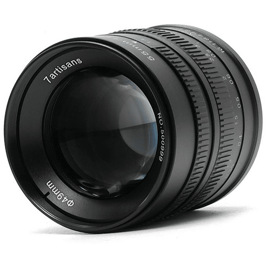 7artisans Photoelectric 55mm f/1.4 Lente para Fujifilm X - Image 2