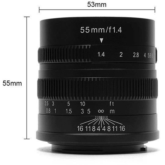 7artisans Photoelectric 55mm f/1.4 Lente para Fujifilm X - Image 3