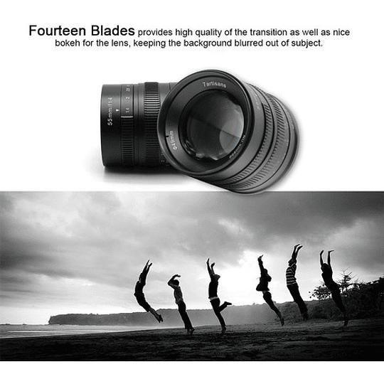 7artisans Photoelectric 55mm f/1.4 Lente para Fujifilm X - Image 5
