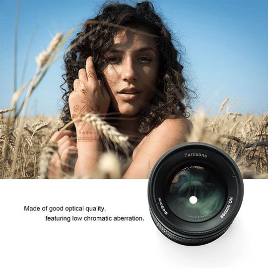 7artisans Photoelectric 55mm f/1.4 Lente para Fujifilm X - Image 6