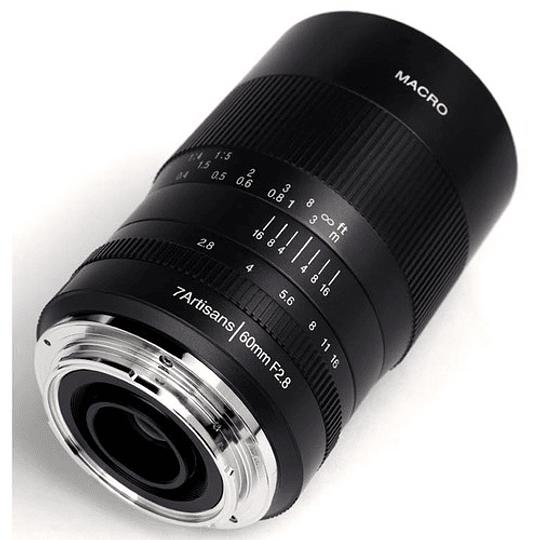 7artisans Photoelectric 60mm f/2.8 Macro Lente para Fujifilm X - Image 2