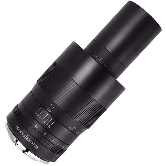 7artisans Photoelectric 60mm f/2.8 Macro Lente para Fujifilm X - Image 4
