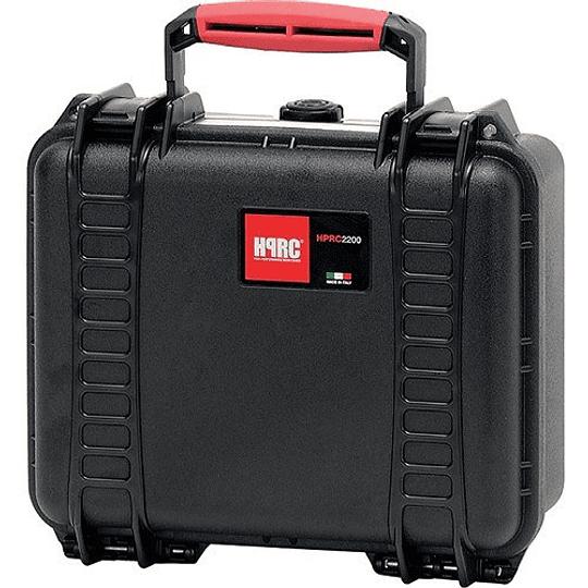 HPRC 2200 Maleta de Seguridad en color negro y naranja